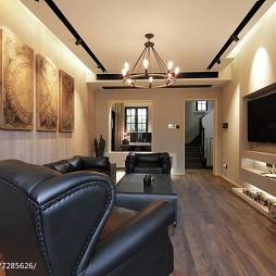 家装混搭风格客厅装饰图