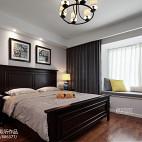 流行美式卧室设计效果图
