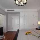 典雅美式卧室装修效果图