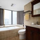 家装美式风格卫浴设计
