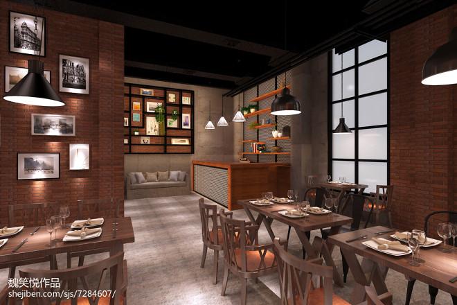 工业风格餐厅_2453161