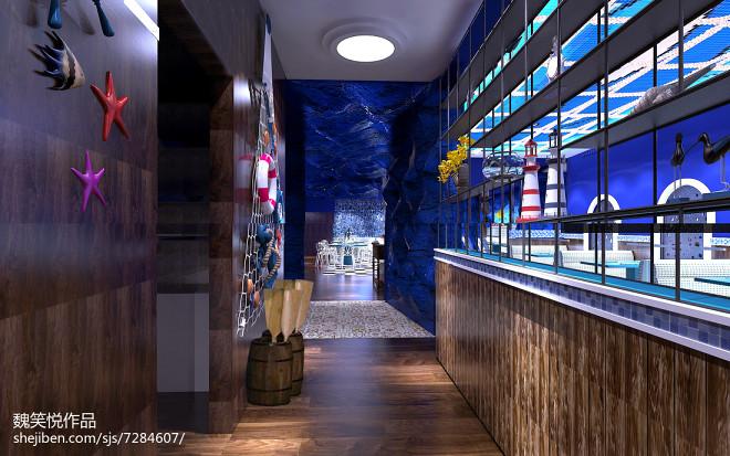 海洋风格主题餐厅_2453557