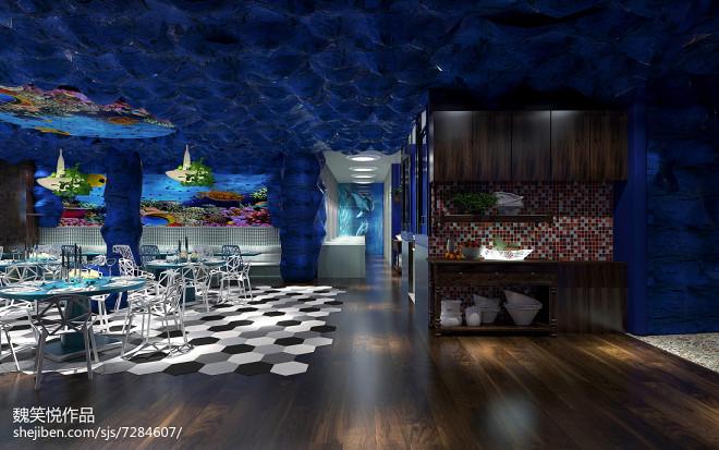 海洋风格主题餐厅_2453561