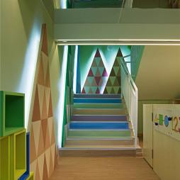 新爱婴儿童早教中心楼梯设计