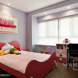 现代风格创意儿童房布置
