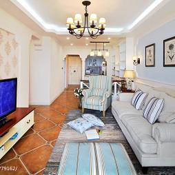 家装美式格调客厅设计效果图