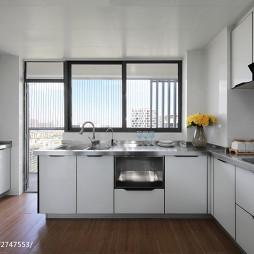 简洁现代格调厨房设计
