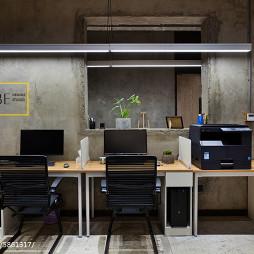 工业风办公室办公区域设计