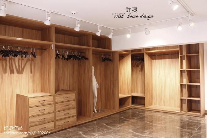服装店展示柜设计