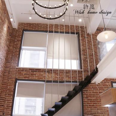 时尚服装店复式楼梯设计