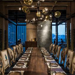 tet西餐厅餐桌设计