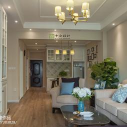 气质美式风格客厅设计