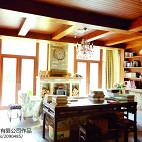 复古美式别墅书房装修