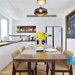 家装北欧风格开放式厨房设计