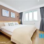 简洁北欧风卧室效果图