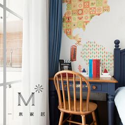 美式风格儿童书房设计