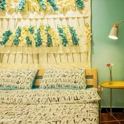 田园风格民宿卧室设计