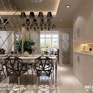 雅颂居小区100平两居室装修--简约时尚都市风_2460180