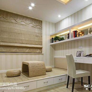雅颂居小区100平两居室装修--简约时尚都市风_2460181