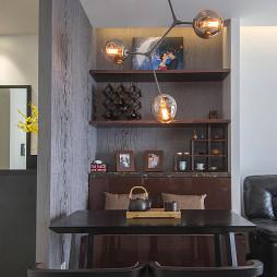 现代风格卡位餐厅设计