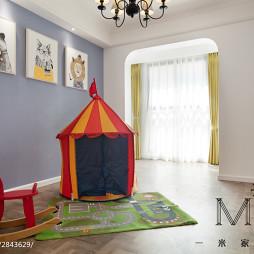 美式风格创意儿童房设计