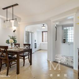 家装美式风格餐厅效果图
