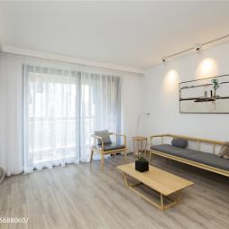 素净简欧风格客厅设计效果图