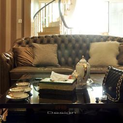 家装混搭风格别墅客厅装修
