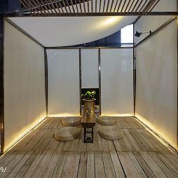 商业展示空间禅茶区装修