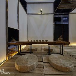 商业展示空间禅茶区布置