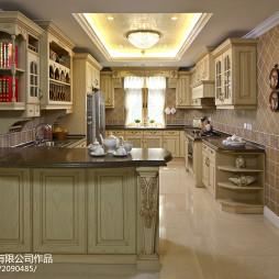 家装欧式厨房设计