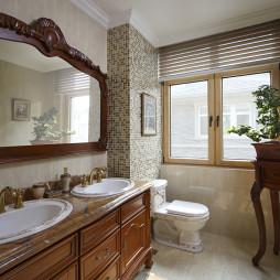 高贵欧式风格卫浴装修