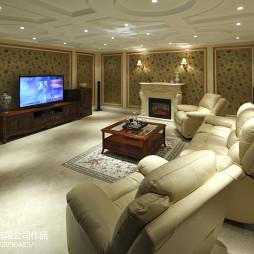 豪华欧式风格地下室装修