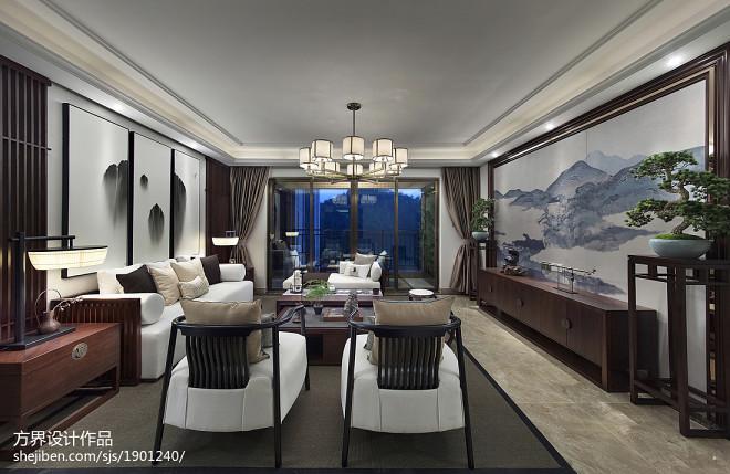 中式雅韵客厅设计