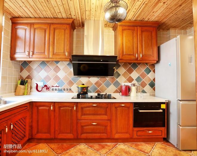 美式风格家居厨房装修案例