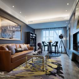 家居后现代风格客厅装修案例