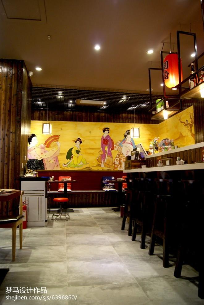 日式餐厅过道装修