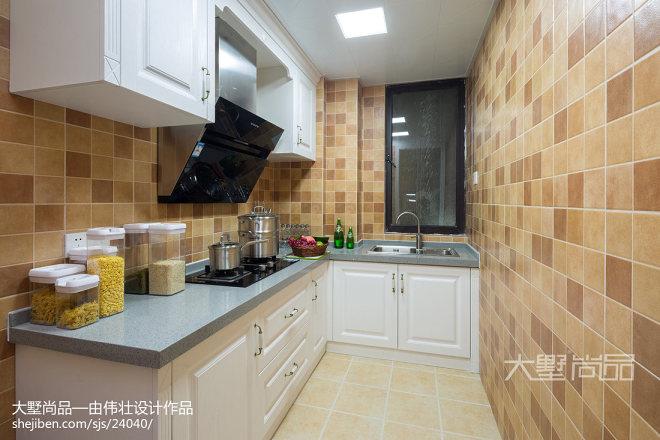 浪漫美式风格厨房设计