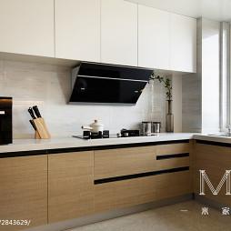简约现代风格厨房装饰图