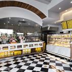 面包和盐餐厅展示柜设计