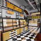 面包和盐餐厅展示柜装修