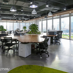 深圳湾1号办公空间装修