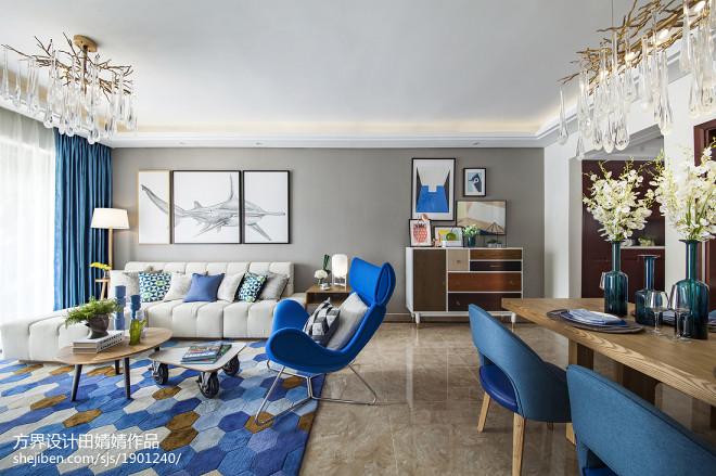 清新现代风格客厅设计案例