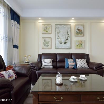 最新美式风格客厅装修