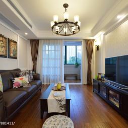 美式二居室客厅设计方案