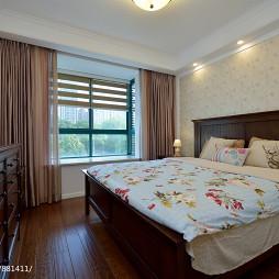 简单美式风格卧室设计