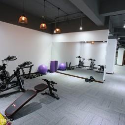 工装办公空间健身区设计