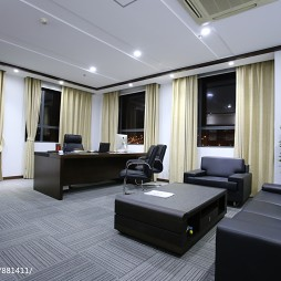 loft风格领导办公室设计