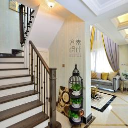 气质新古典风格楼梯装修