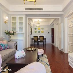 浪漫混搭风格客厅设计